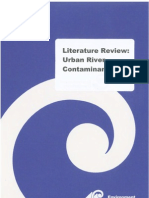 LiteratureReviewUrbanRiverContaminants[1]
