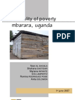 The reality of poverty, Mbarara-Uganda