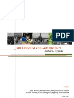 Millenium Village Project. Ruhiira-Uganda