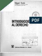 Introduccion Al Derecho -Miguel Reale