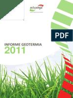Informe geotermia 2011
