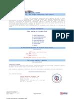Clean Shester de Colombia Ltda. -  clasificacion anual clean shester