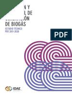 Situación y potencial de generación de biogas