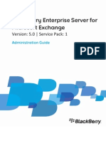 Blackberry Enterprise Server for Microsoft Exchange Administration Guide T487521 813841 1026035749 001 5.0.1 US