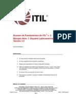 Sample Exam ITV3F Latin American Spanish 7 30 0808 Pdf_sin Respuestas