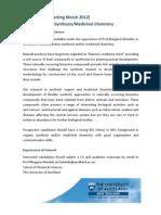 PhD Position Ad Med Chem