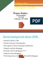 GEEP GDB Basics 24thFeb08