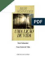 Uma Lição de Vida - Meir Schneider