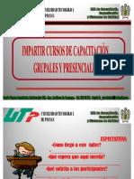 IMPARTICIÓN DE CURSOS DE CAPACITACIÓN 2012