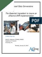 2012 White Paper - Advanced Data Conversion