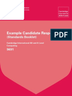 9691 Computing Example Candidate Responses Booklet 2011[1]