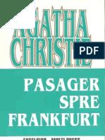 Agatha Christie- Pasager Spre Frankfurt
