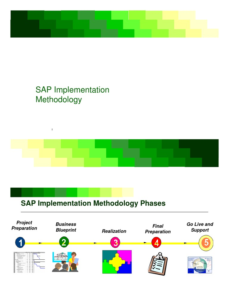 Sap implementation methodology business process project management malvernweather Image collections