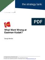 What Went Wrong at Eastman Kodak