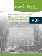 Urban Tree Canopy Analysis Helps Urban Planners with Tree Planting Campaigns