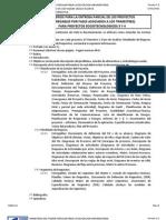 FORMA-110 - Criterios Para La Entrega Parcial de Los Proyect