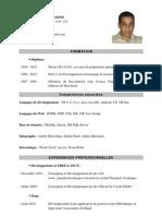 CV Mahassine Mohamed Amine