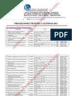 Cadt Training Calendar 2012  www.cadttraining.org