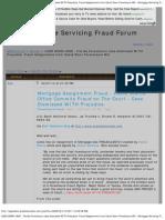 LAND MARK CASE - Florida Foreclosure Case Dismissed WITH Prejudice. Fraud As
