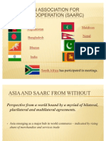 South Asian Association for Regional Cooperation (SAARC