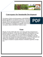 Convergence for Sustainable Development