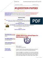 All Exam Question Papers