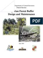 Riparian Forest Buffer Design and Maintenance