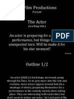 NUFilm Productions - The Actor