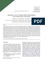 Quantitative Review of Riparian Buffer Width