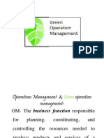 Green Management