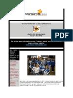 Greater Martinsville Chamber of Commerce Newsletter 1.30.12