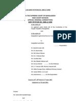 BLAST v Bangladesh and Others 55 DLR HCD 2003 363