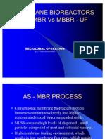 Membrane Bio Reactor Presentation