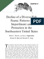 Decline of a Diverse Fish Fauna