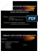 Origin and Nature of Radiation (English)