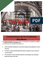 Corrientes Filosoficas Contemporaneas Unidad 1 Parte 1