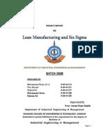 lean manufacturing and six segma