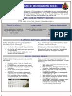 CPTED - Crime Prevention Through Environmental Design