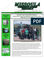 2011 Issue 1, Missoula Conservation District Newsletter