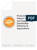 Protecting Wild Salmon Habitat and Supporting Sustainable Fisheries & Aquaculture