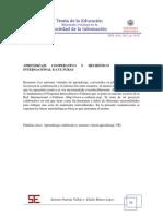 APRENDIZAJE COOPERATIVO Y HEURÍSTICO EN LA RED INTERNACIONAL E-CULTURAS