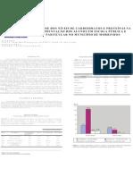 Poster Analise dos niveis de carboidratos e proteinas na alimentação dos alunos em escola publica e particular no municipio de Morrinhos