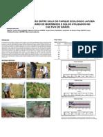 Poster Comparação entre solo do parque ecologico Jatoba Centenario de Morrinhos e solo utilizado no cultivo de graos