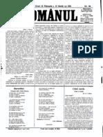 romanul 3 martie 1916
