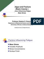 4 Fatigue Influencing Factors