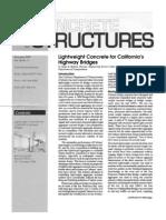 4700.11 Lightweight Concrete for California