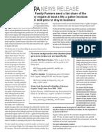 NODPA Press Release for Fair Share 1.18.12