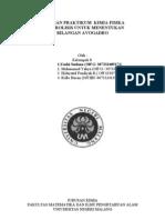 Elektrolisis Untuk Penentuan Bilangan Avogadro