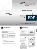Manual de Operacion Teatro Samsung Ht Ds490