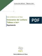 Regulamento Concurso-Tábua a ler +